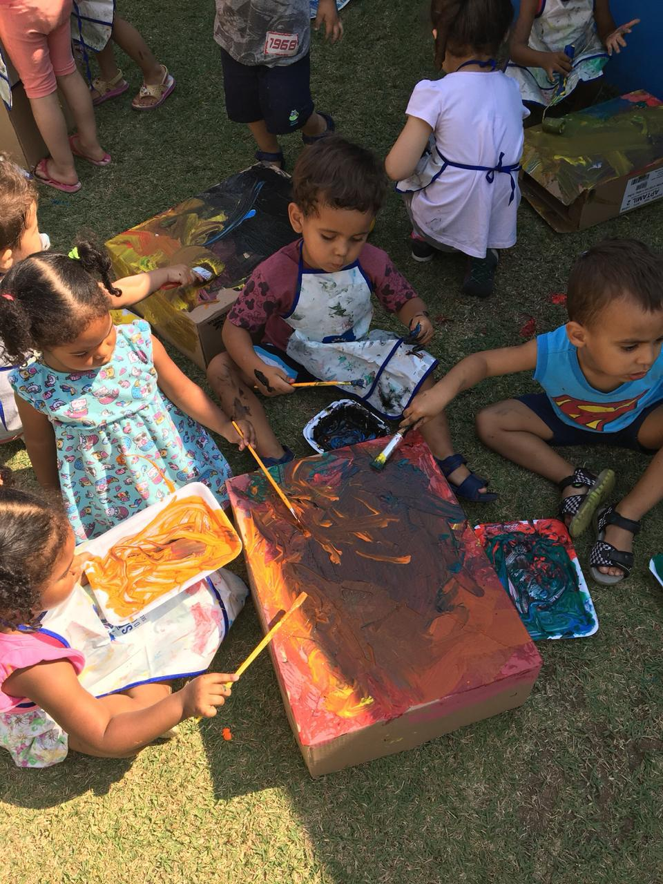 Direitos de aprendizagem e desenvolvimento na educação infantil