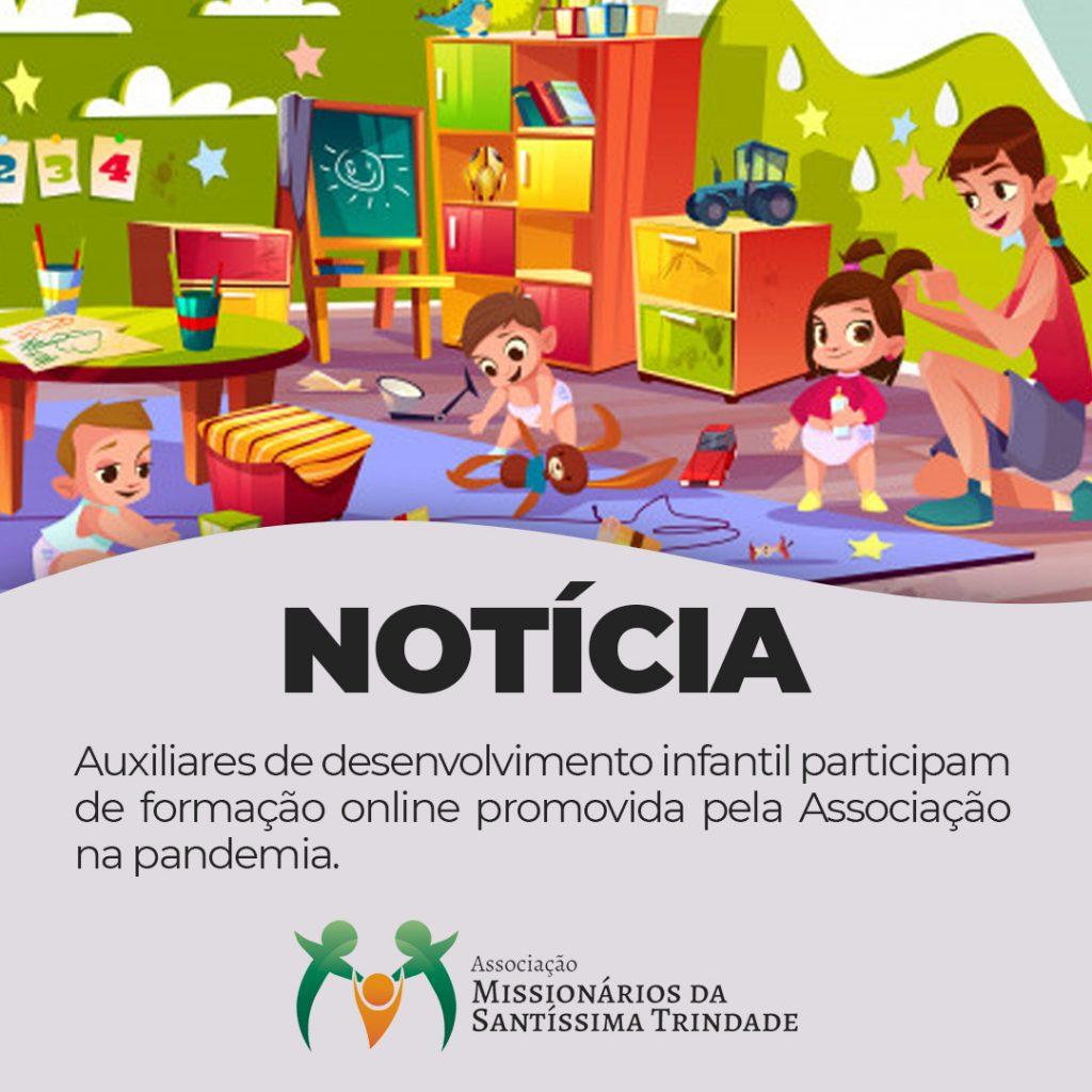 ADIs participam de formação online promovida pela Santíssima durante a pandemia