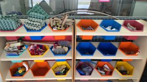 Unidade  escolar aborda consumo consciente e preservação do meio ambiente.